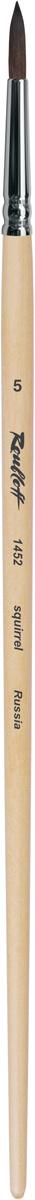 Roubloff Кисть 1452 белка круглая № 9 длинная ручка #1