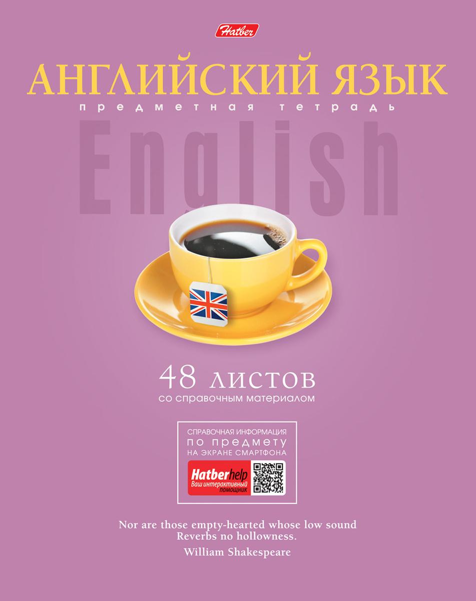 Hatber Тетрадь Коллекция Знаний Английский язык 48 листов в клетку  #1