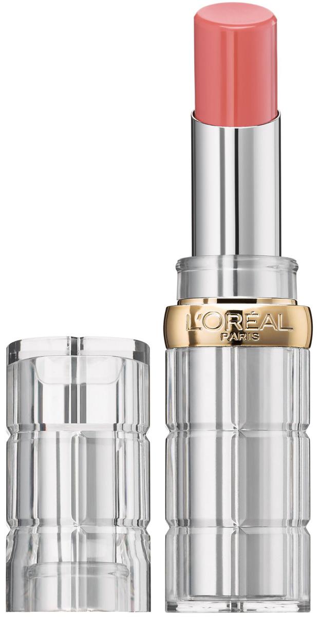 Помада для губ L'Oreal Paris Color Riche Shine, сияющая, защищающая и увлажняющая, оттенок 111, Инстарай #1