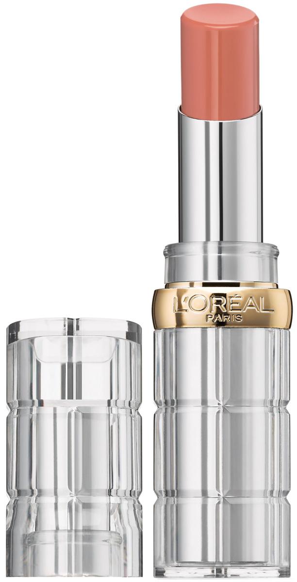 Помада для губ L'Oreal Paris Color Riche Shine, сияющая, защищающая и увлажняющая, оттенок 112, Только #1