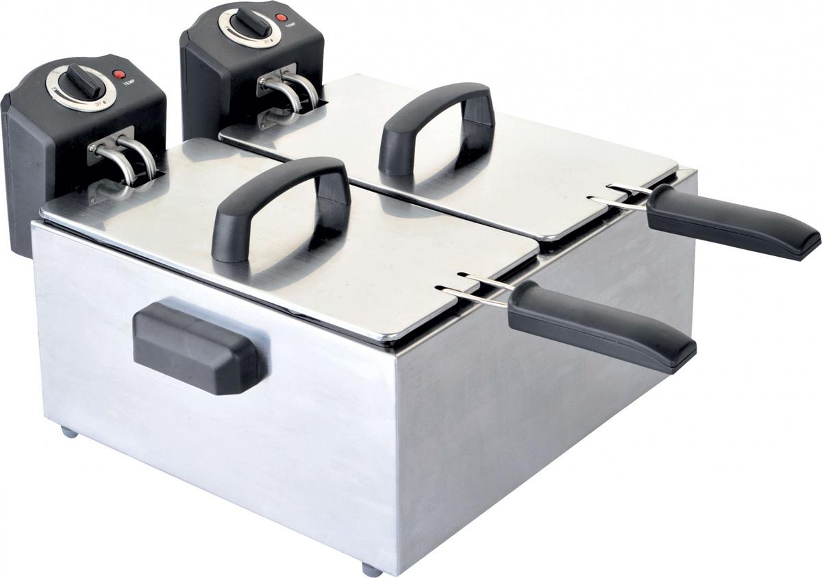 Фритюрница Gemlux GL-DF44M, Silver #1