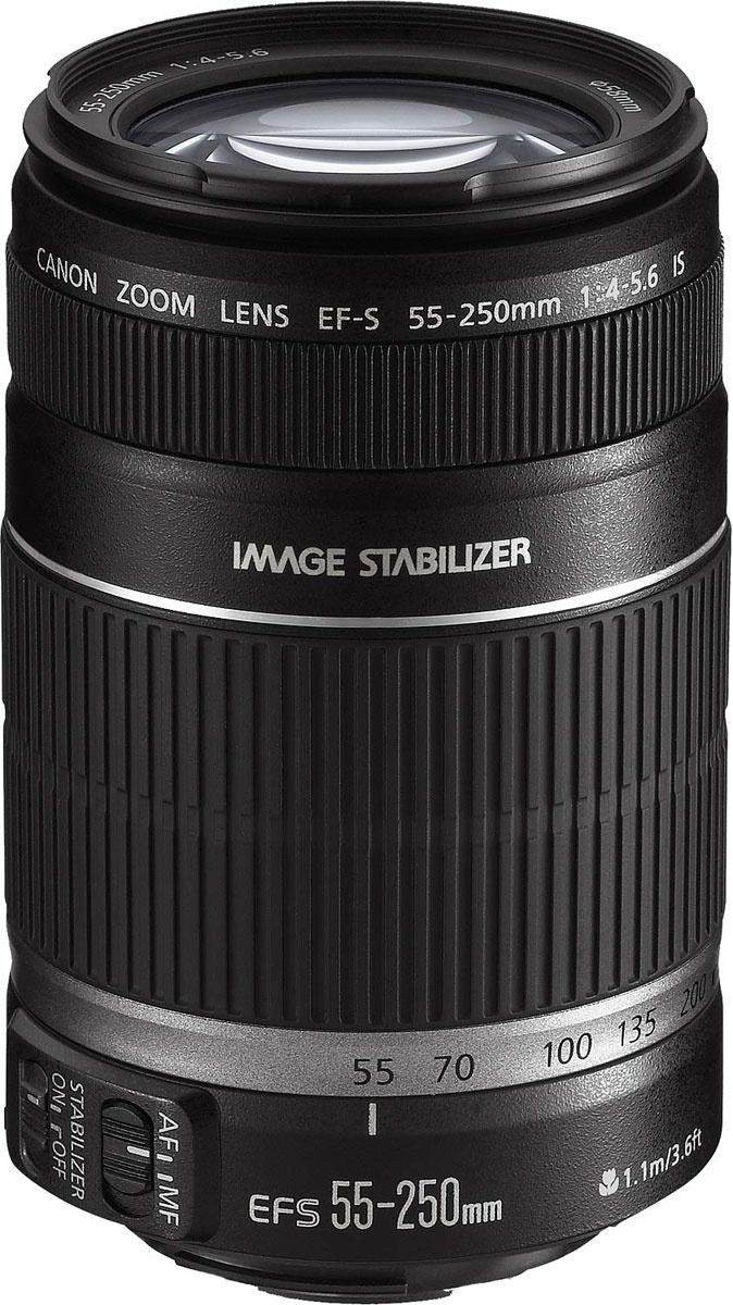 Объектив Canon Canon EF-S 55-250mm F4-5.6 IS объектив #1
