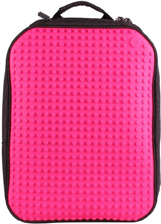 Upixel Пиксельный рюкзак большой ортопедическая спинка цвет фуксия  #1