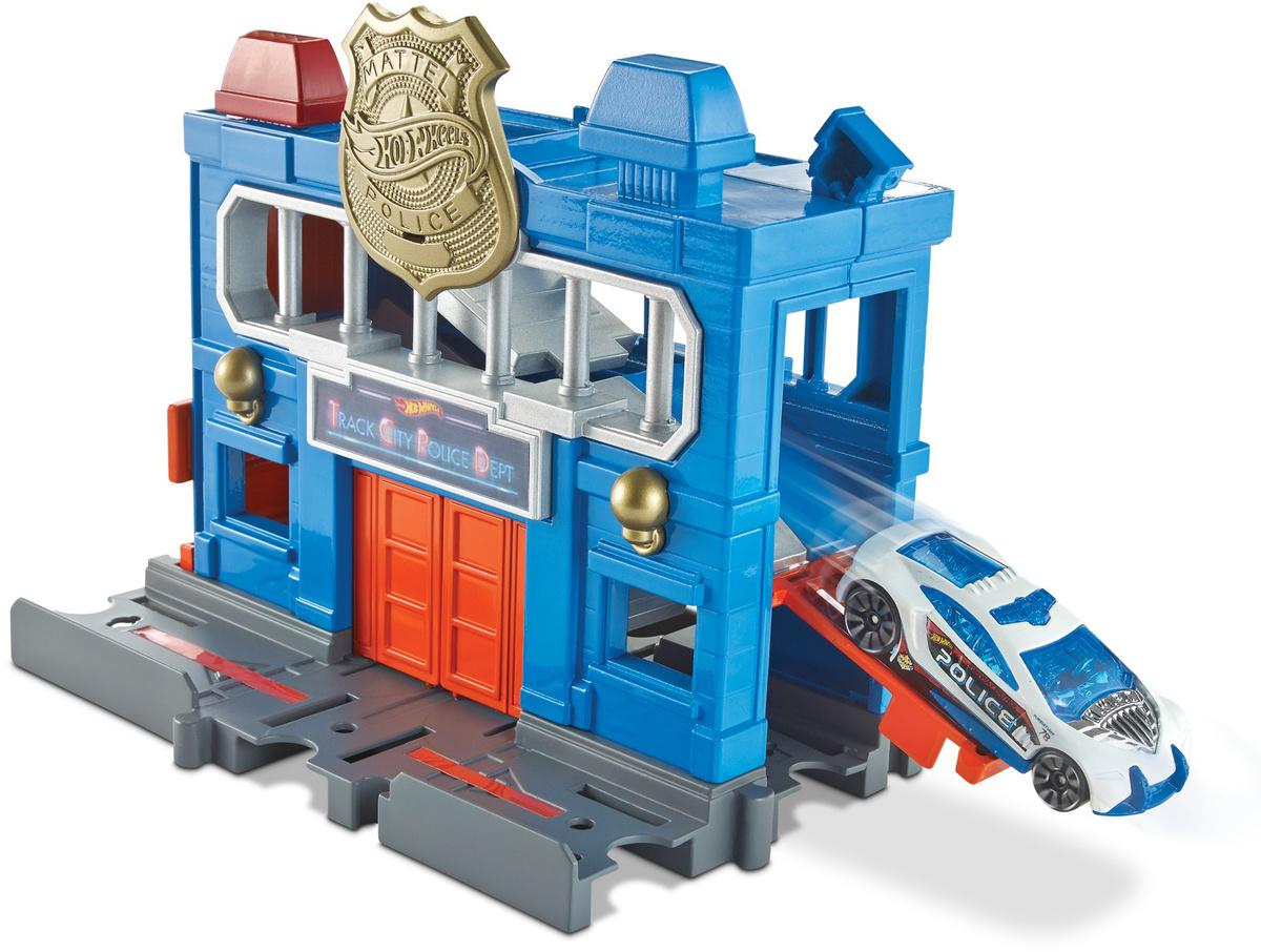 Набор игровой Hot Wheels Сити Городские локации Погром полицейского участка FRH33  #1