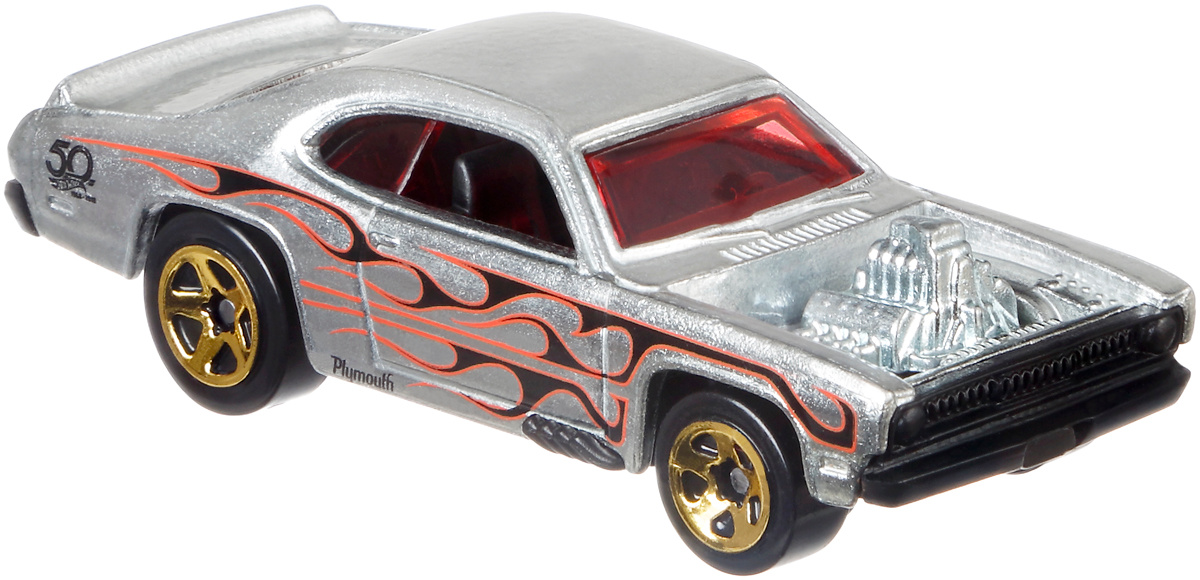 Hot Wheels Трековые машинки Юбилейные тематические машинки Plymouth Duster Thruster  #1