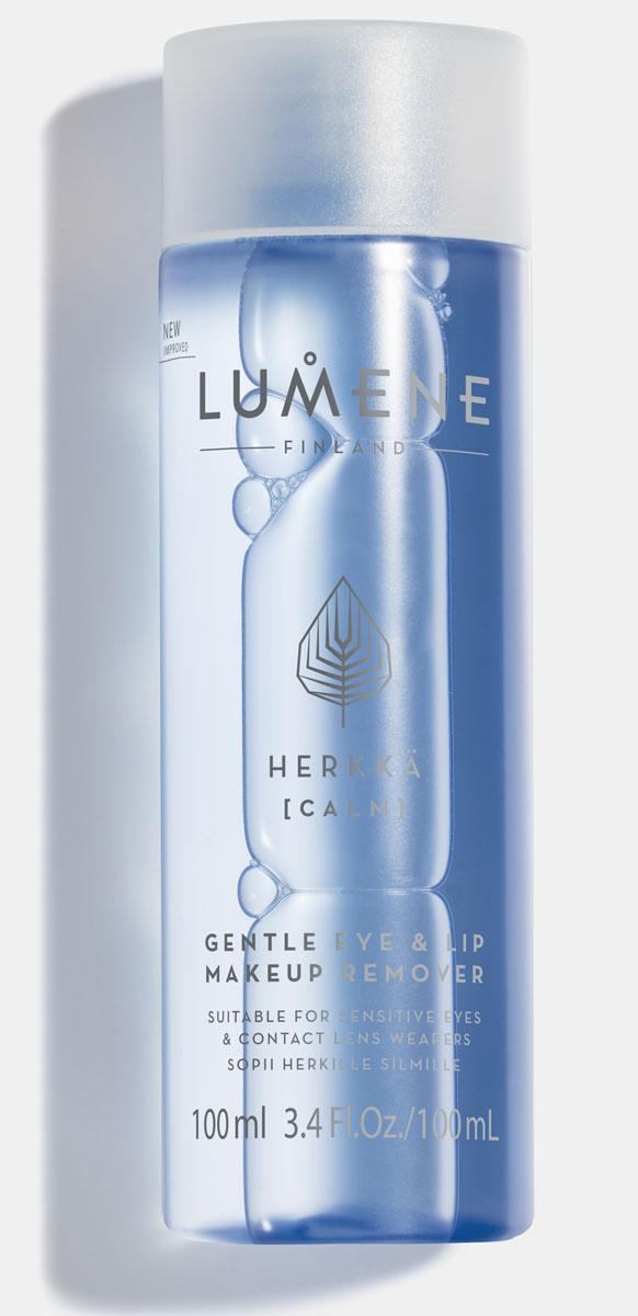 Lumene Бережное средство для снятия макияжа с глаз и губ Herkka, 100 мл  #1