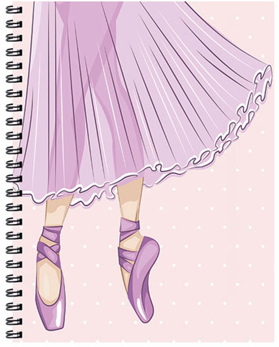Expert Complete Тетрадь Compliment Ballet 96 листов цвет светло-розовый формат A5  #1