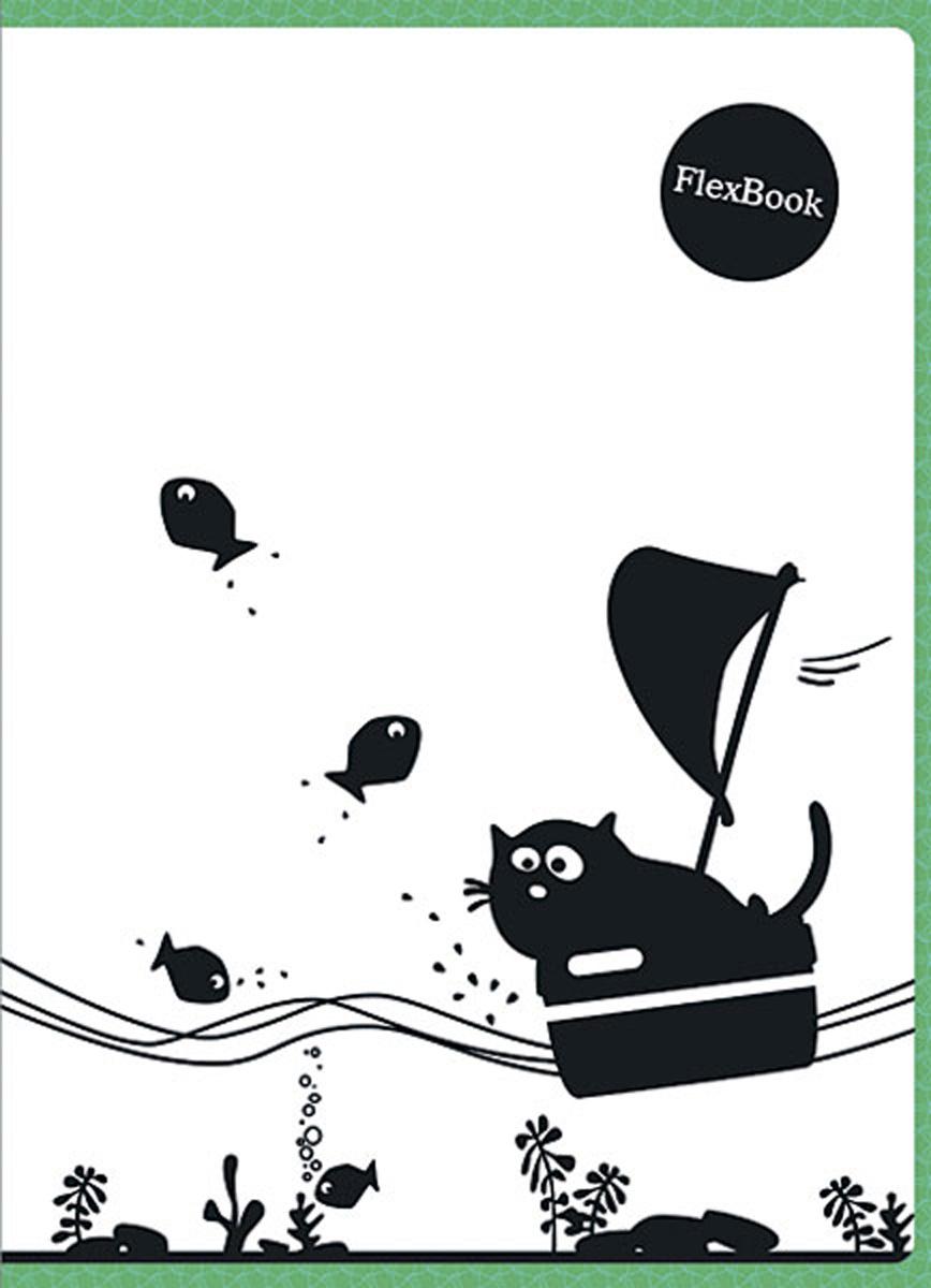 Expert Complete Тетрадь Animals 80 листов в клетку цвет белый черный зеленый формат A4  #1
