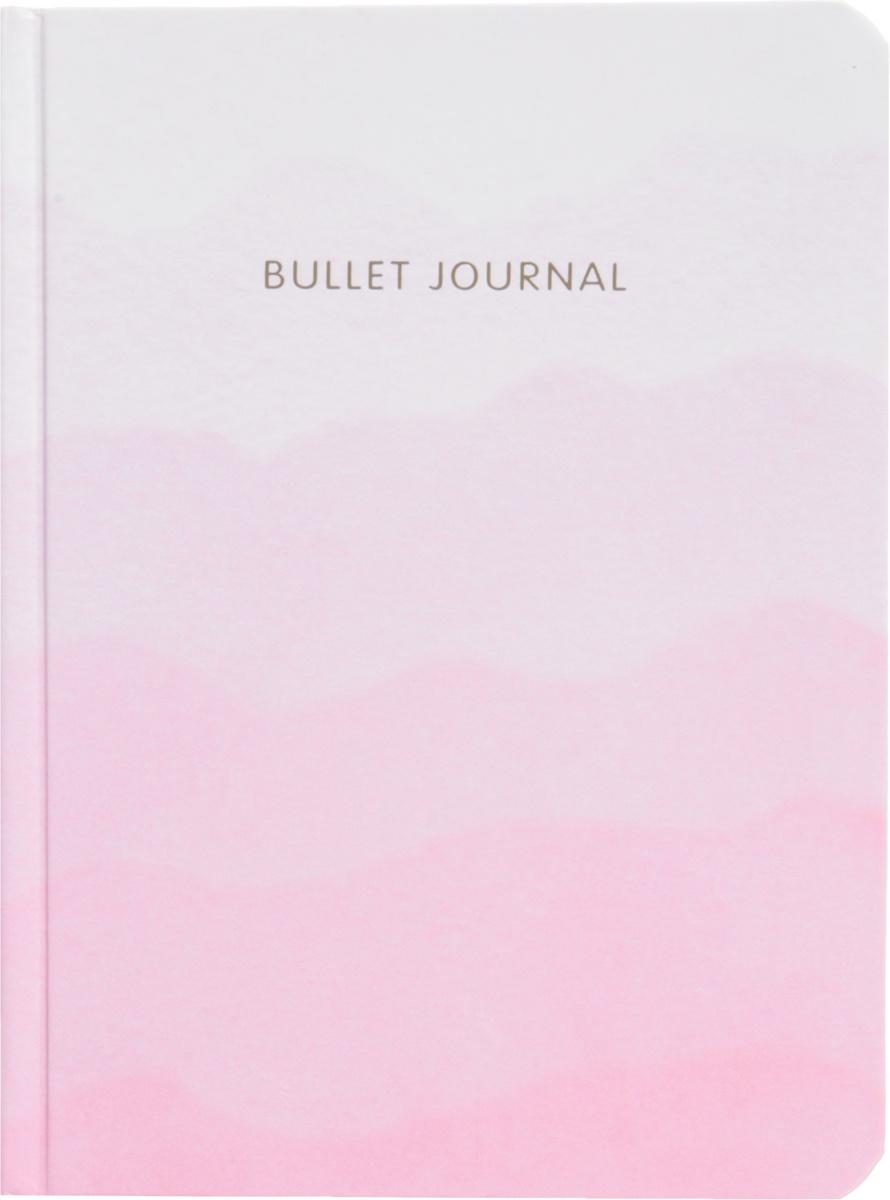 Блокнот в точку: Bullet Journal (розовый) #1