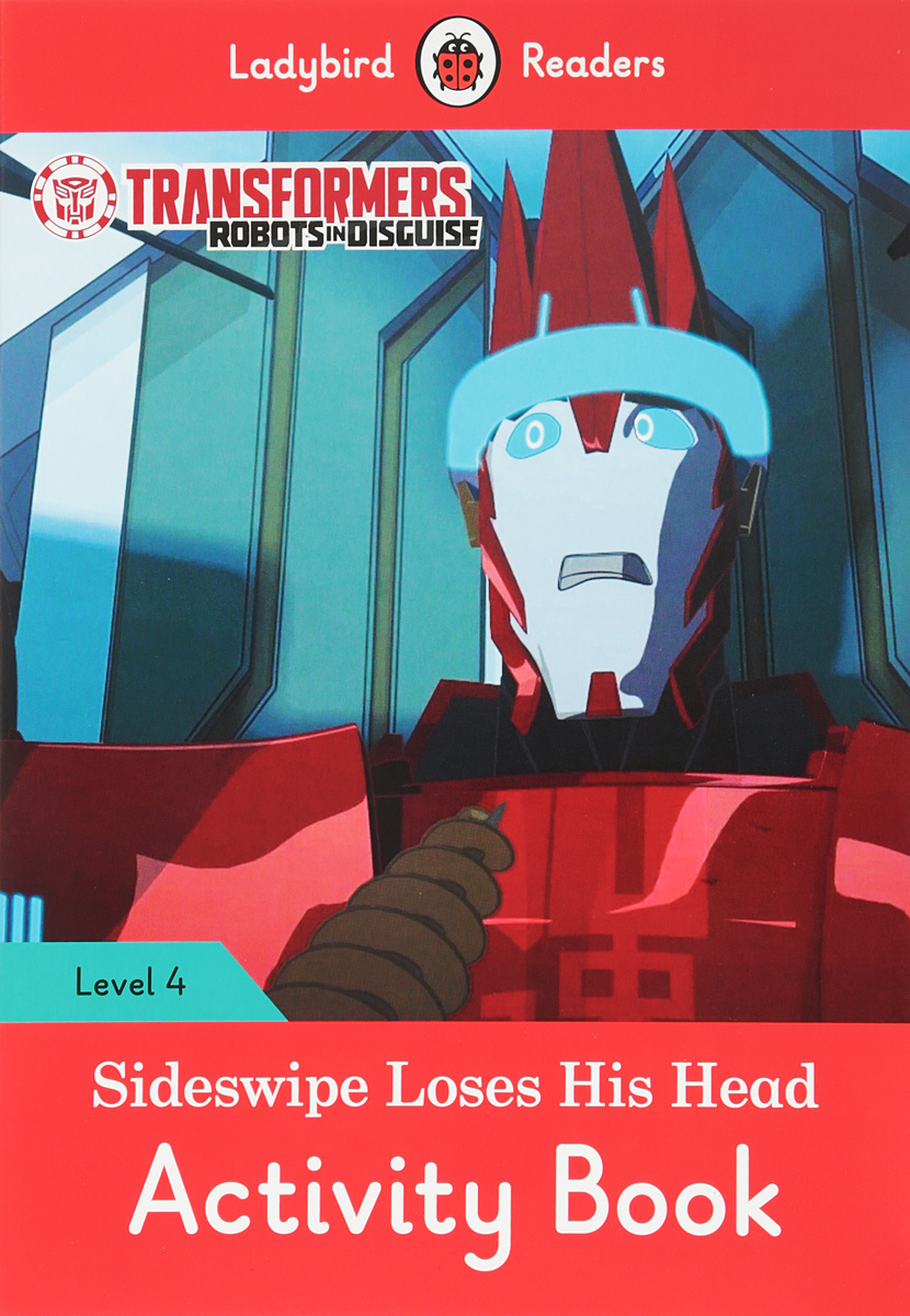 Transformers: Sideswipe Loses His Head: Activity Book: Level 4 #1