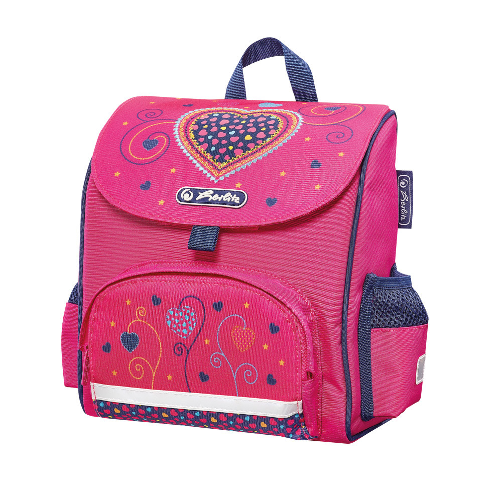 138dc77f1afb Herlitz Рюкзак дошкольный Mini Softbag Pink Hearts — купить в интернет-магазине  OZON.ru с быстрой доставкой
