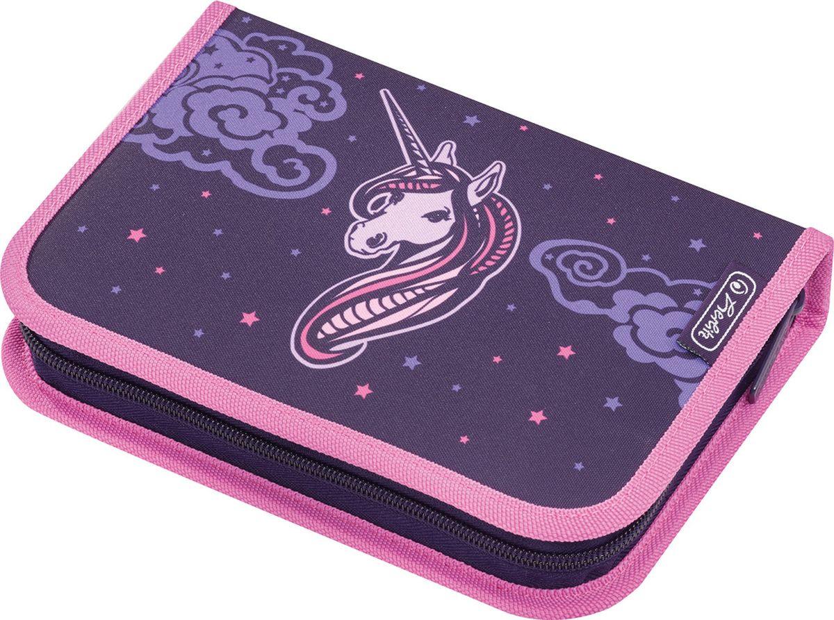 3b1ff17ea895 Herlitz Пенал с наполнением Unicorn Night 31 предмет — купить в интернет-магазине  OZON.ru с быстрой доставкой