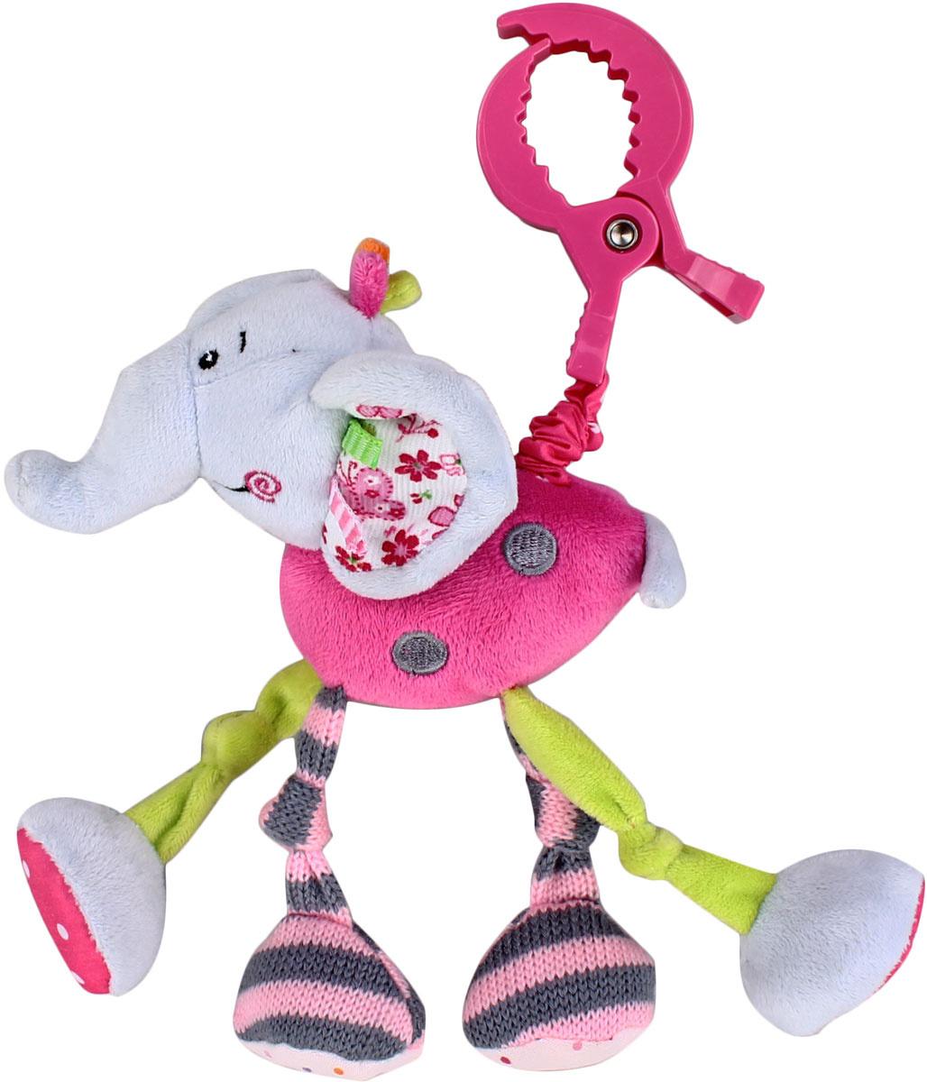 """Развивающая игрушка-подвеска Жирафики """"Слоненок Тим"""" с вибрацией  #1"""