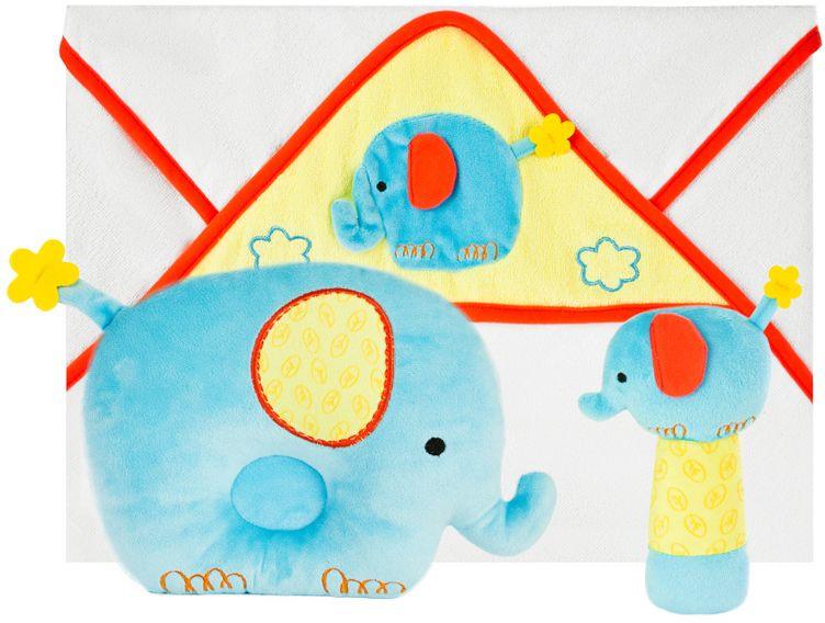 Жирафики Подарочный набор Добрый слоник 3 предмета #1