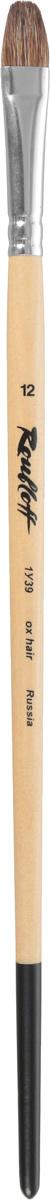 Roubloff Кисть 1У39 овальная № 12 длинная ручка #1