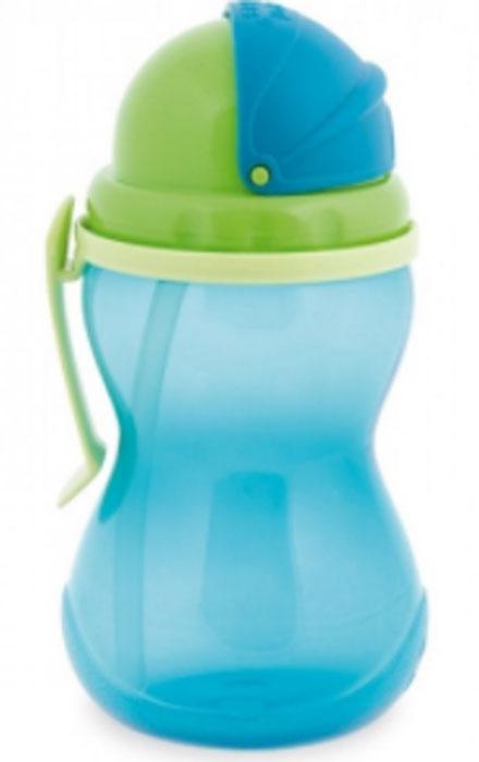 Canpol Babies Поильник с трубочкой от 12 месяцев цвет синий 370 мл  #1