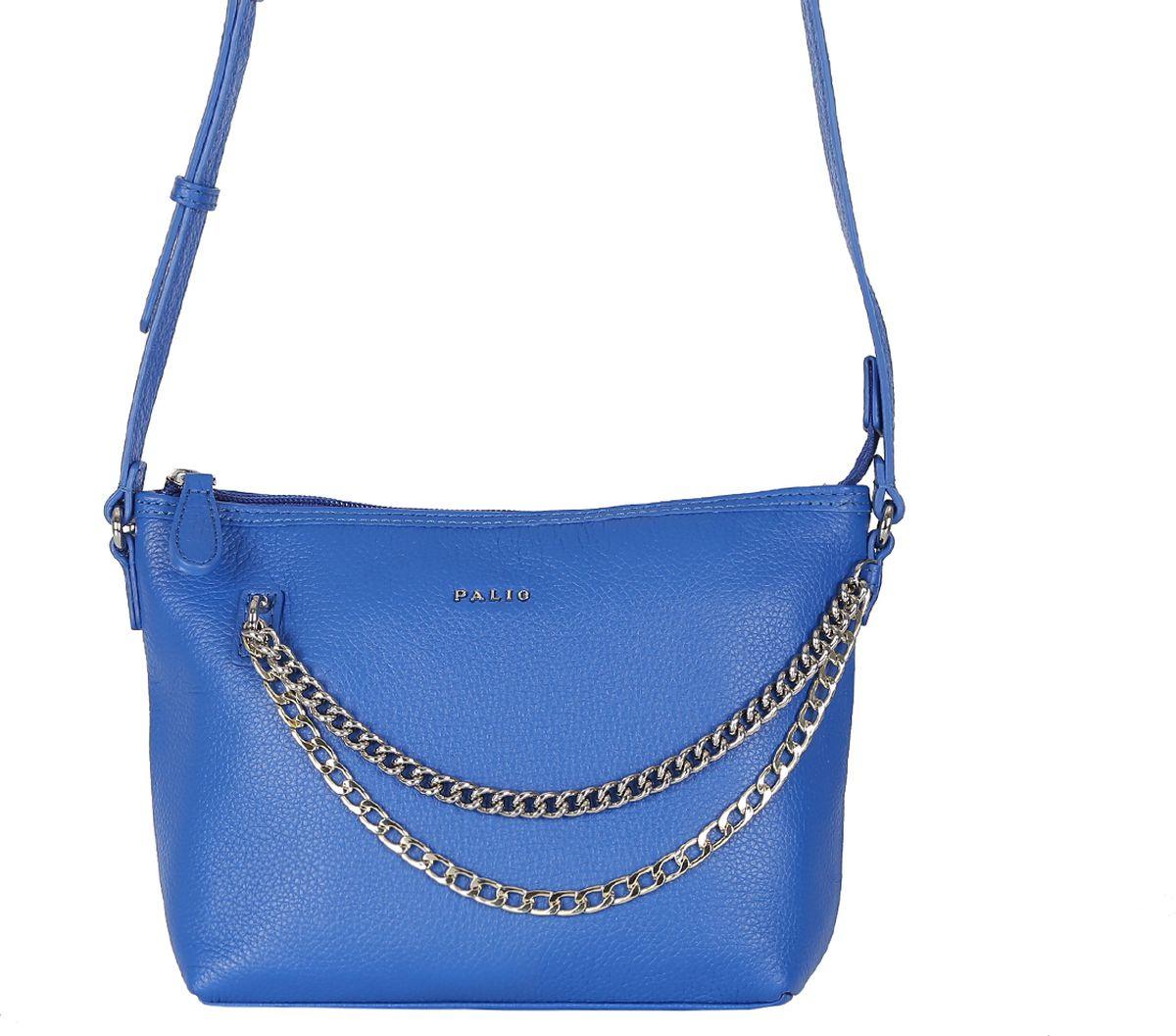 02fa27f27607 Сумка женская Palio, цвет: синий. 14381A-885 — купить в интернет-магазине  OZON.ru с быстрой доставкой