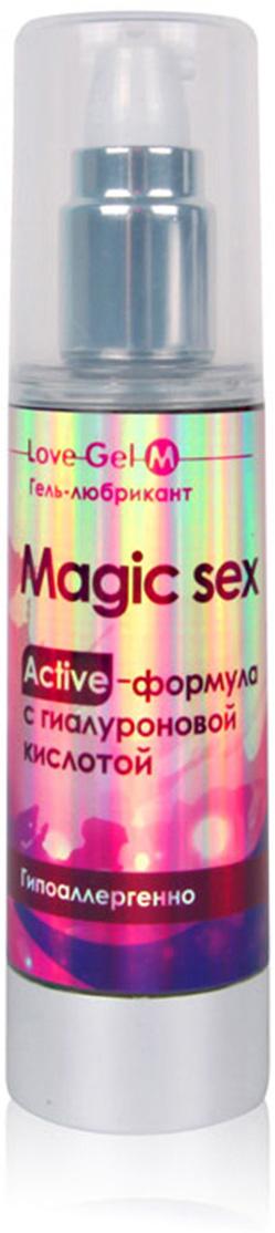 """Биоритм Гель с гиалуроновой кислотой Magic Sex """"LOVEGEL M"""", 55 г #1"""