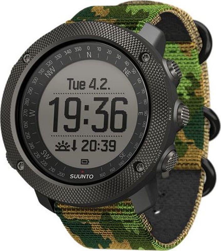 """Спортивные часы Suunto Спортивные часы Suunto """"Traverse Alpha Woodland"""", цвет серый  #1"""