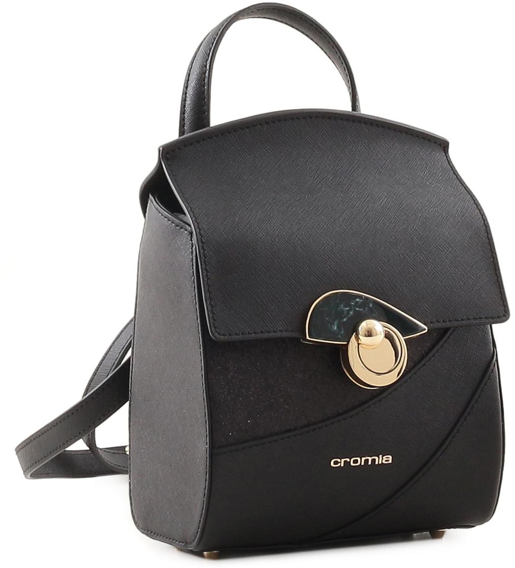 c9c9d69eb04b Рюкзак женский Cromia, цвет: черный. 679 — купить в интернет-магазине  OZON.ru с быстрой доставкой
