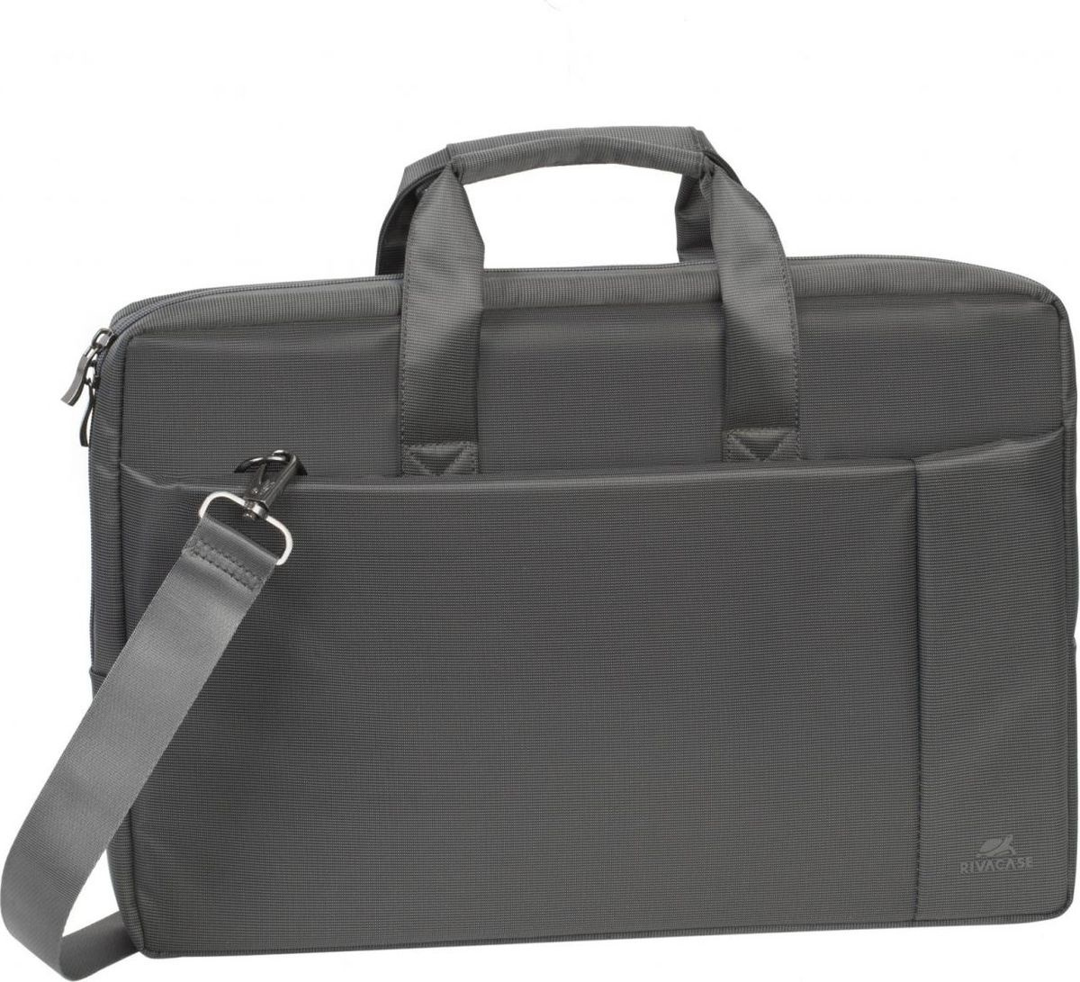 f77f2e307498 RivaCase 8251, Grey сумка для ноутбука 17,3