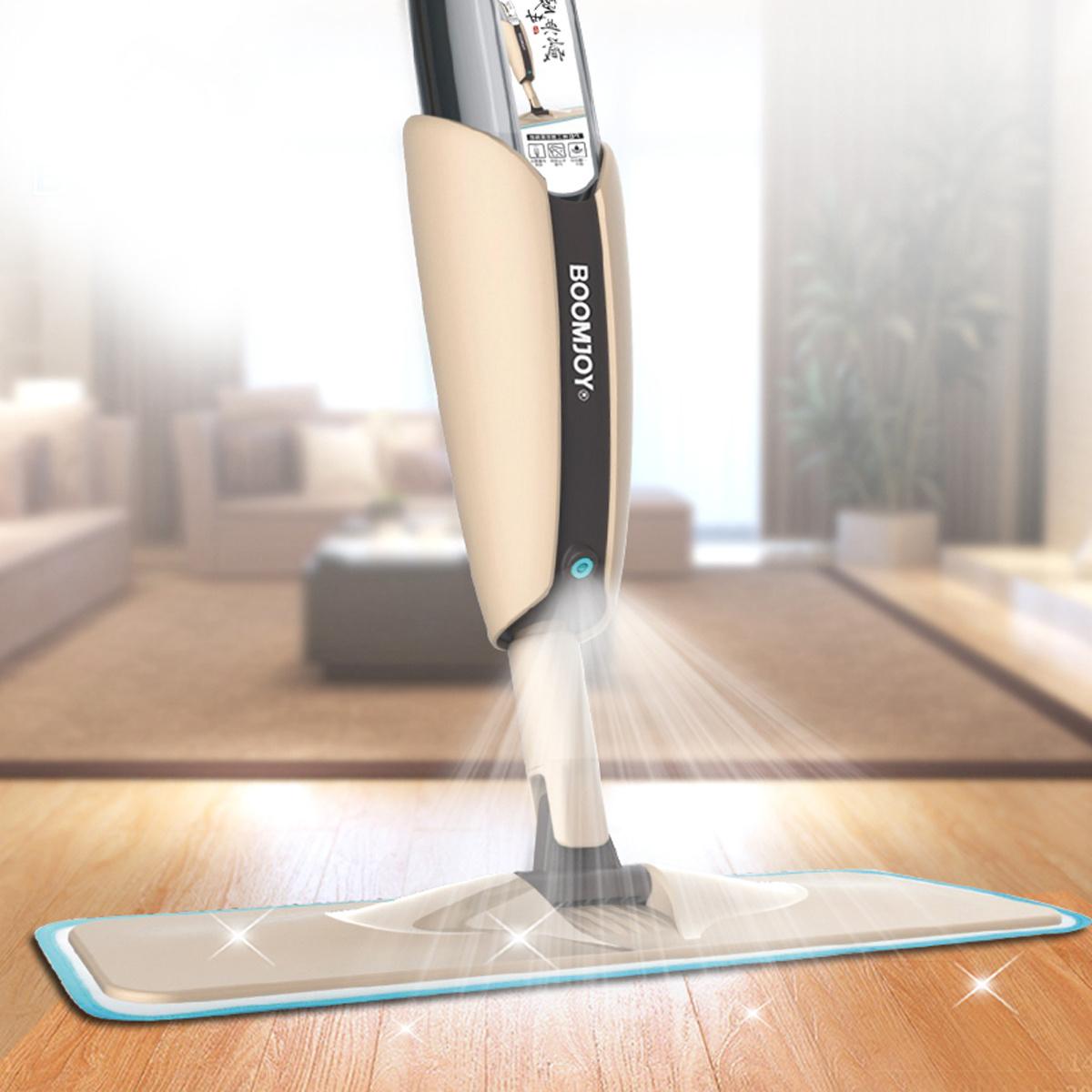 """Швабра с распылителем Boomjoy """"Spray Mop"""", с пульверизатором для влажной  уборки, Дозатор для моющего средства - купить по низкой цене в  интернет-магазине OZON"""