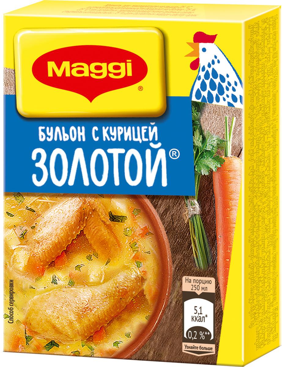 Maggi Золотой бульон с курицей, 8 кубиков по 10 г #1