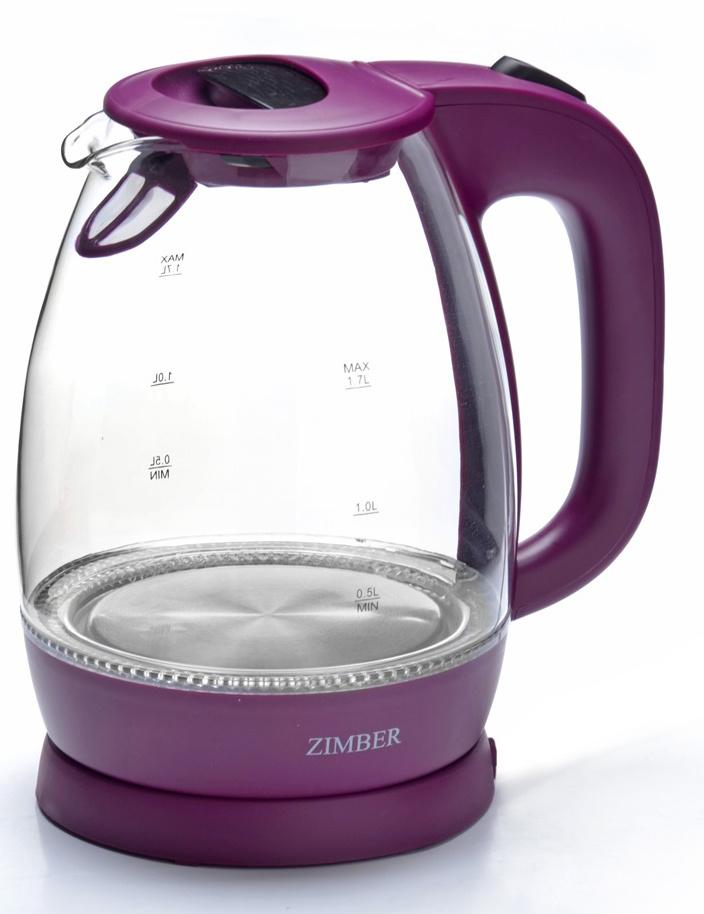 Электрический чайник Zimber ZM-11176, фиолетовый #1