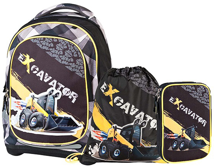 6b7d778ecd0f Target Collection Ранец школьный Экскаватор 2 4 в 1 — купить в интернет-магазине  OZON.ru с быстрой доставкой
