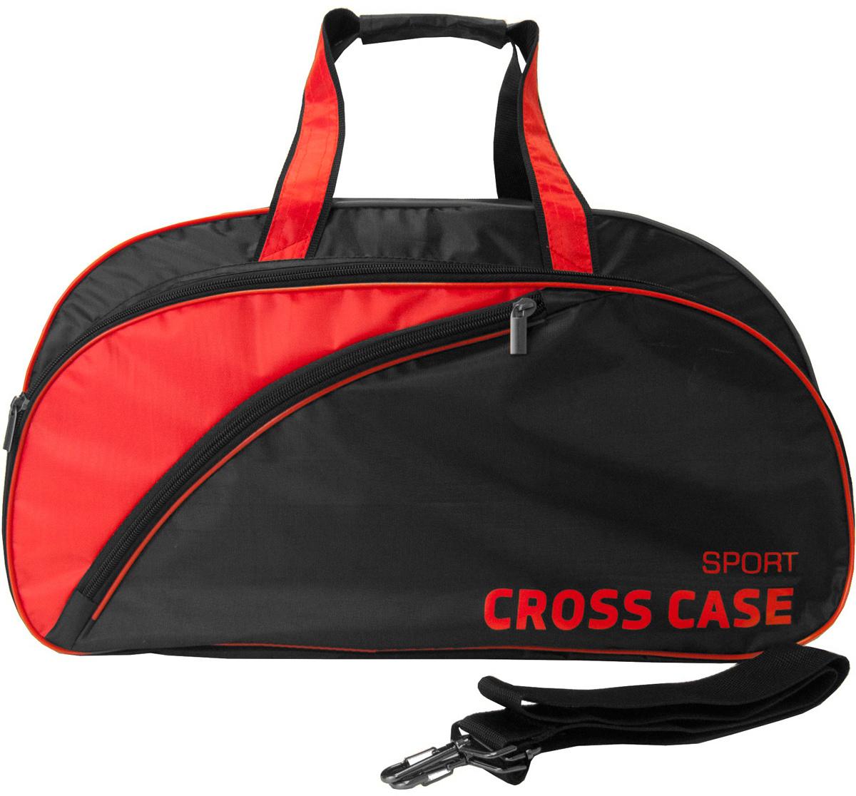 0842b0295873 Сумка мужская Cross Case, цвет: черный, красный. CCS-1039-01 — купить в  интернет-магазине OZON.ru с быстрой доставкой