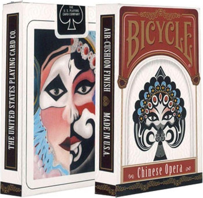 """Карты игральные Bicycle """"Китайская опера"""". К-827 #1"""