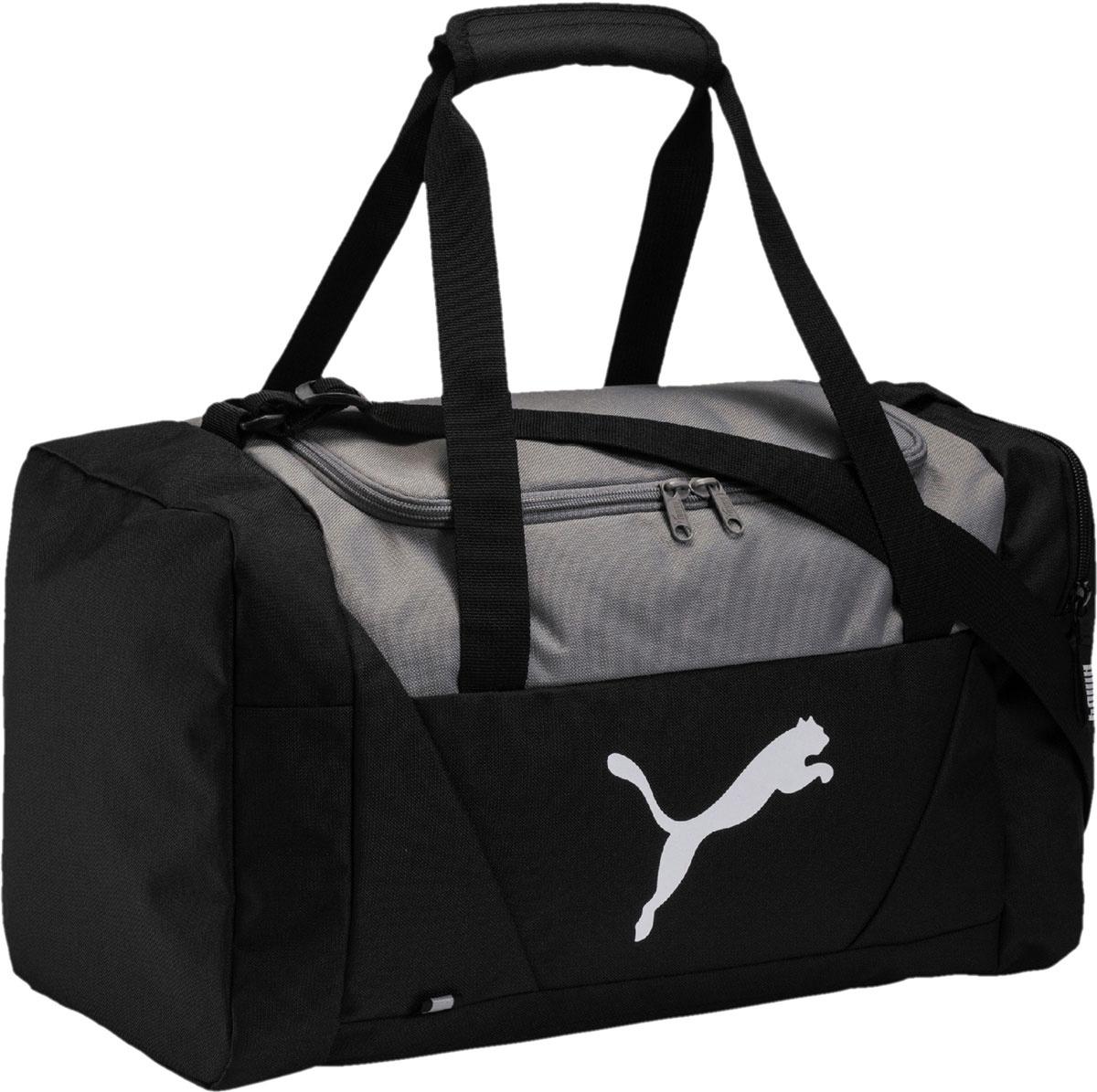 e616208a2c01 Сумка мужская Puma Fundamentals Sports Bag S, цвет: черный, 31 л. 07509601  — купить в интернет-магазине OZON.ru с быстрой доставкой
