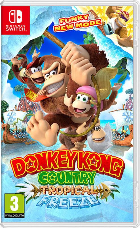 Игра Donkey Kong Country: Tropical Freeze (Nintendo Switch) (Nintendo Switch, Английская версия)  #1
