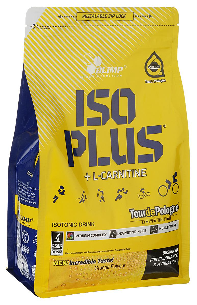 """Изотонический напиток Olimp Sport Nutrition """"Iso Plus Powder"""", апельсин, 1505 г  #1"""