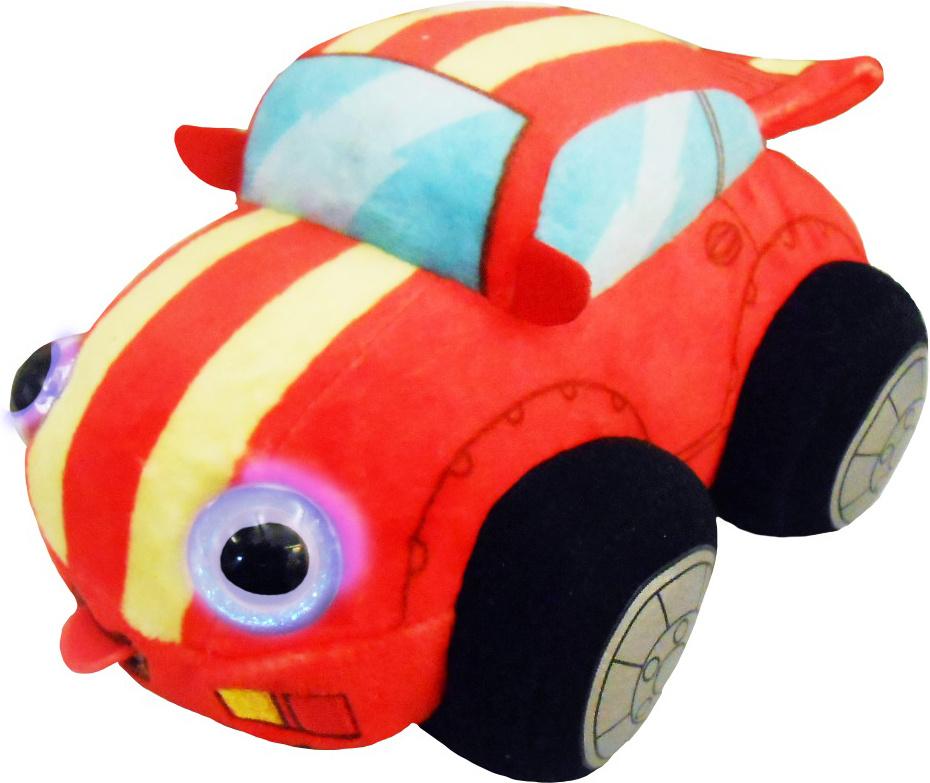 1TOY Мягкая озвученная игрушка Дразнюка-Биби Гоночная машинка 15 см  #1