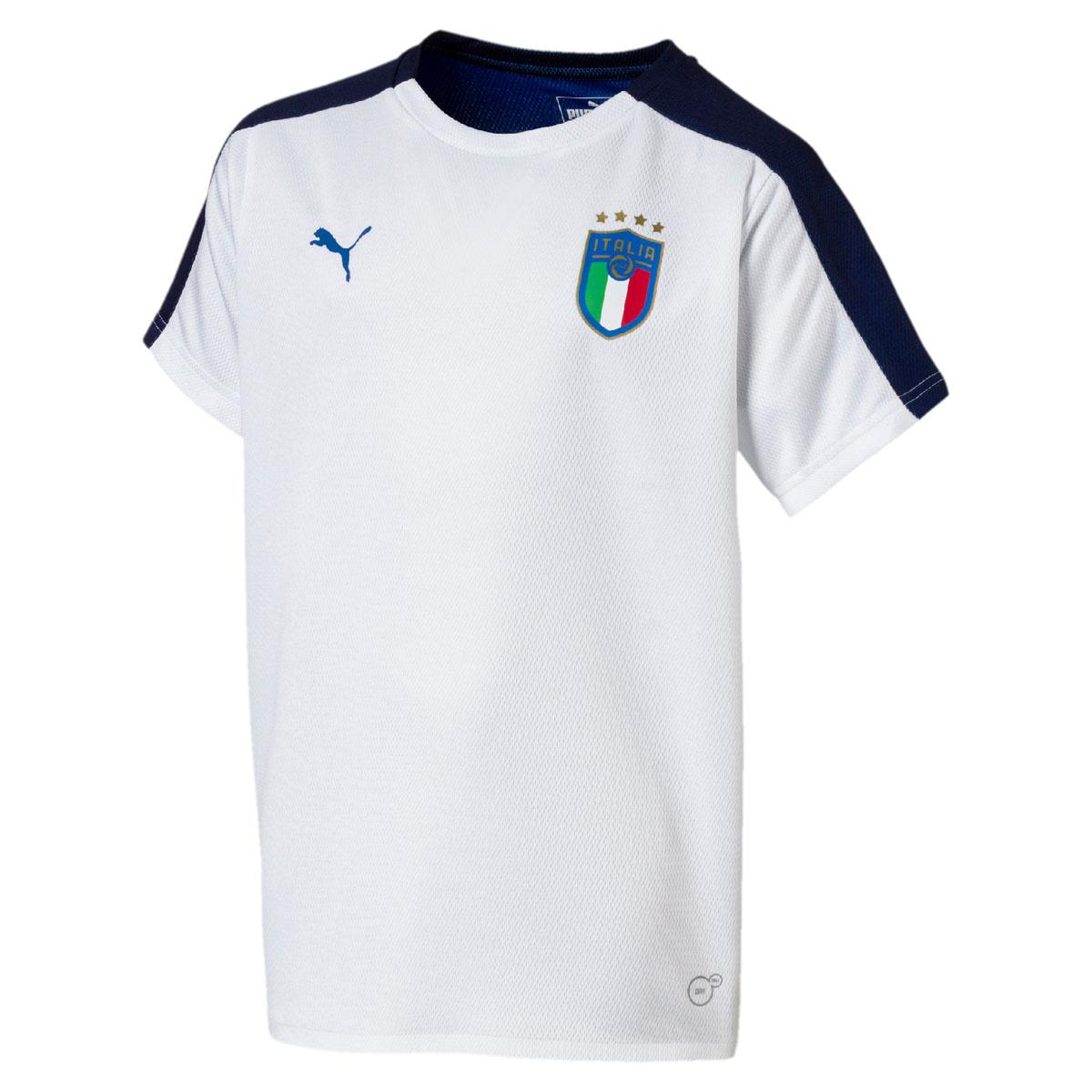 cecfacea0bf1f Футболка PUMA FIGC Italia Jersey SS Jr — купить в интернет-магазине OZON с  быстрой доставкой