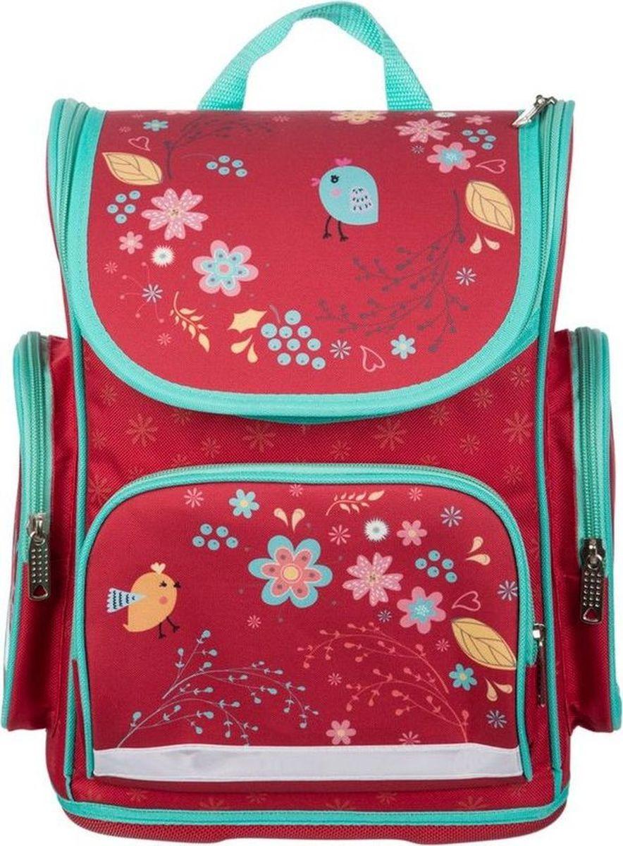 №1 School Ранец школьный Птички #1
