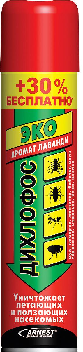 """Аэрозоль от летающих и ползающих насекомых Arnest """"Эко"""", 190 мл + 30% бесплатно  #1"""