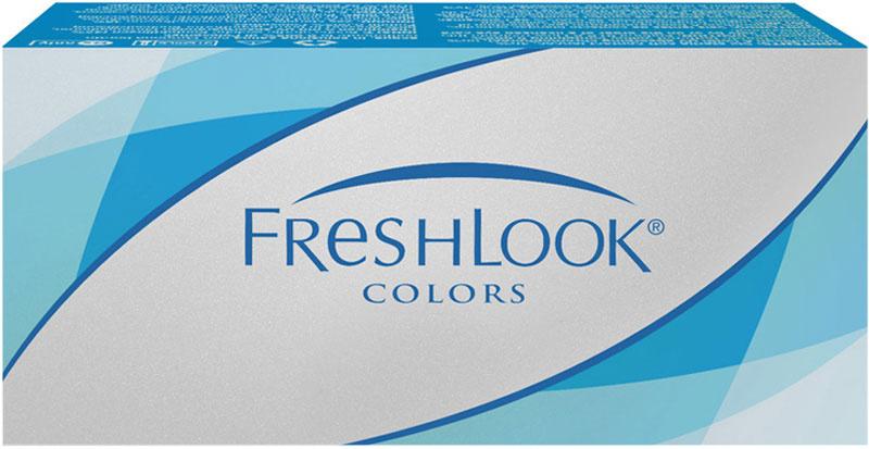 Цветные контактные линзы Alcon FreshLook Ежемесячные, 0.00 / 14,5, Аlcon FreshLook Colors Misty Gray, #1