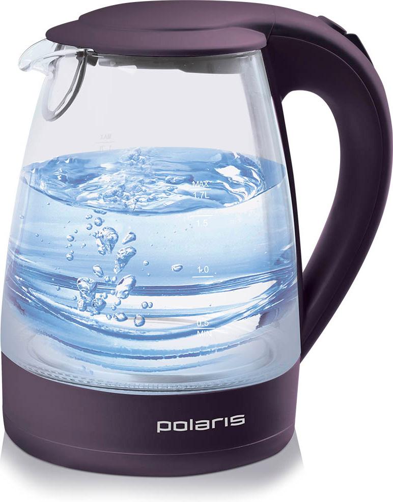 Электрический чайник Polaris PWK 1767CGL, фиолетовый #1