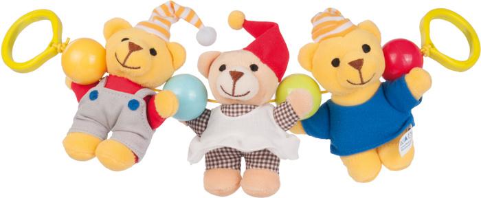 Canpol Babies Игрушка подвесная с погремушкой Мишки #1