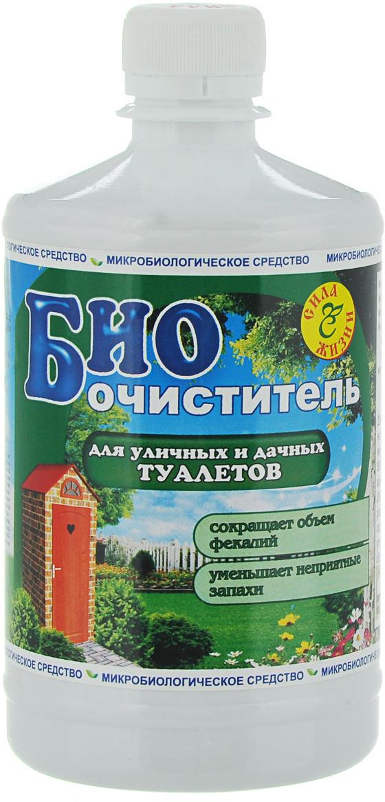 """Биоочиститель """"Сила жизни"""" для уличных и дачных туалетов, 0,5 л  #1"""