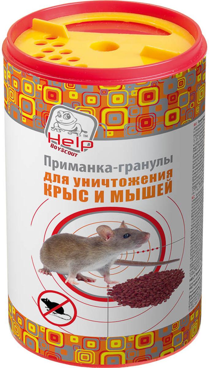 """Приманка-гранулы для уничтожения крыс и мышей """"Help"""", 200 г #1"""