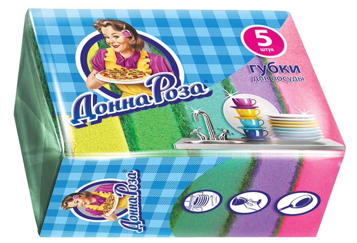Губка Донна Роза, 5 шт, 1 уп., Поролон #1