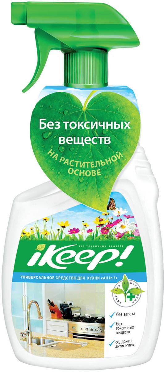 "Средство для кухни Ikeep ""All In One"", универсальное, c триггером , 750 мл  #1"