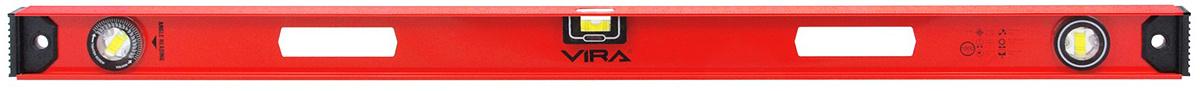 """Уровень """"Vira"""", магнитный, 3 глазка, 1000 мм #1"""