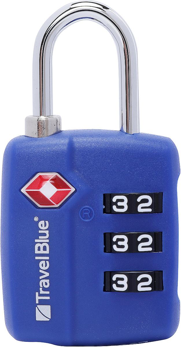Замок кодовый Travel Blue #1