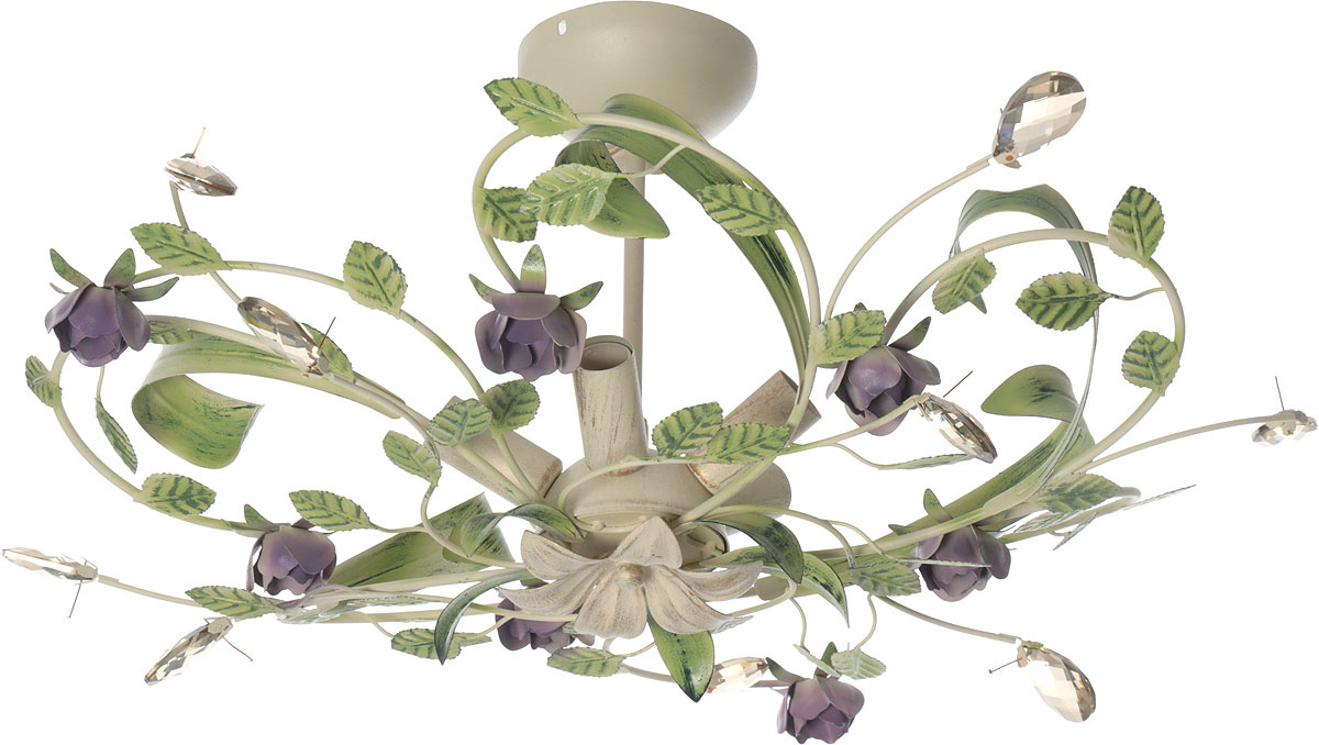 """Подвесной светильник Vitaluce Люстра """"Vitaluce"""", 5 х E14, 60 Вт. V1439/5PL, E14, 60 Вт  #1"""