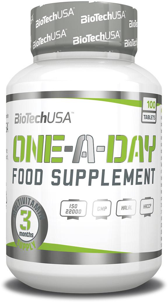 Витаминно-минеральный комплекс BioTech USA One-a-Day, 100 таблеток  #1