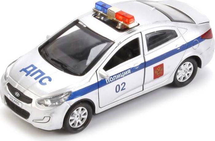 ТехноПарк Машинка инерционная Hyundai Solaris Полиция #1